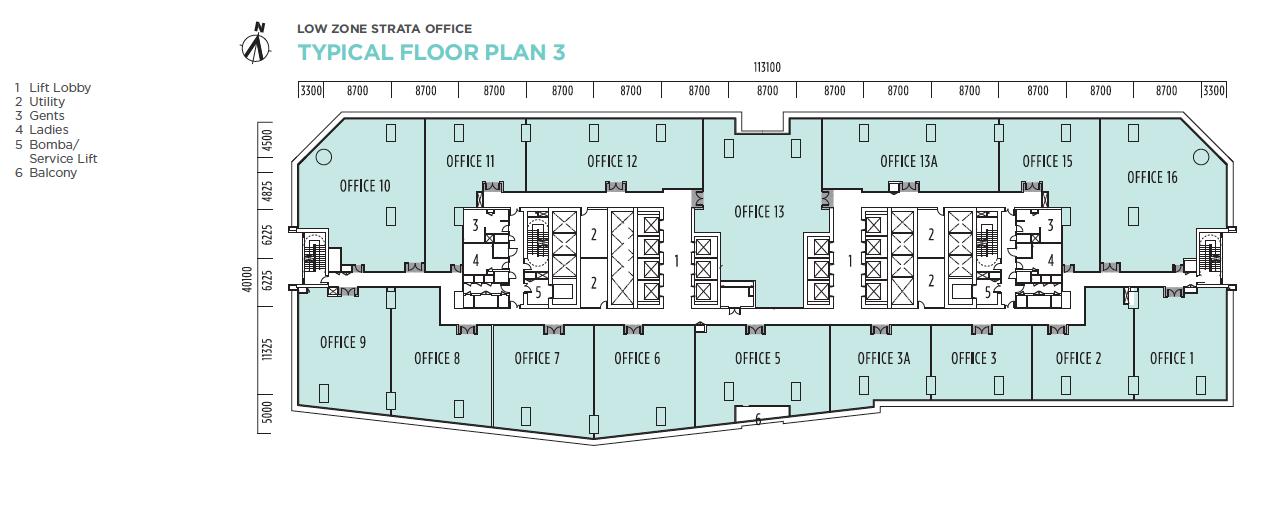 floor plan q sentral at kl sentral. Black Bedroom Furniture Sets. Home Design Ideas